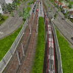 Die S-Bahnhaltestelle im Norden von Hastings