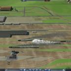Bastelzeit am Bahnhof 1900 - Nahansicht des Abstellbereiches / Lokschuppen 01