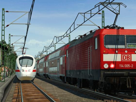 Zugverkehr im Zeitraum von 1900 bis 2014