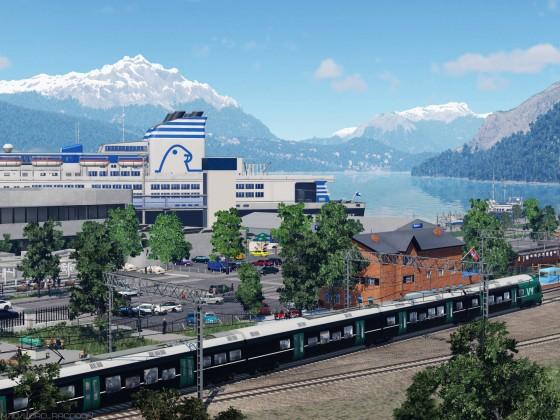 [TpF1] Train station near the port