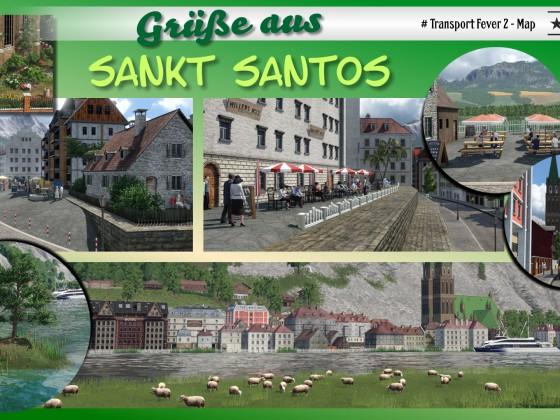 Postkarte Sankt Santos