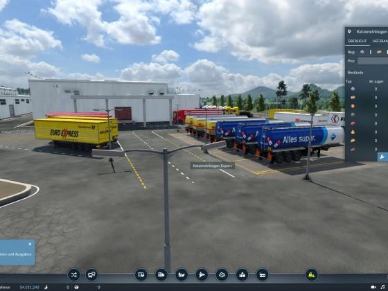 Import und  Export  ( Cargo Magnet )
