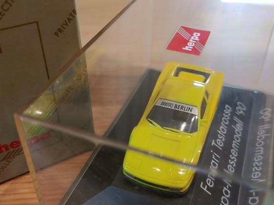 Ferrari Testarossa Messemodell von 1990
