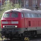218 321 in Hamburg Hbf