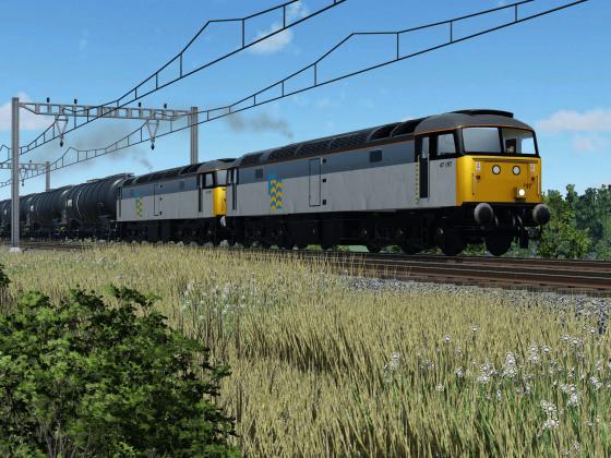 47 oil train