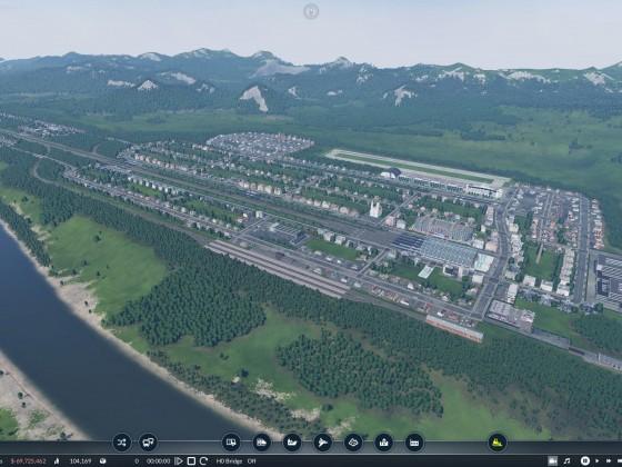 Die start Stadt