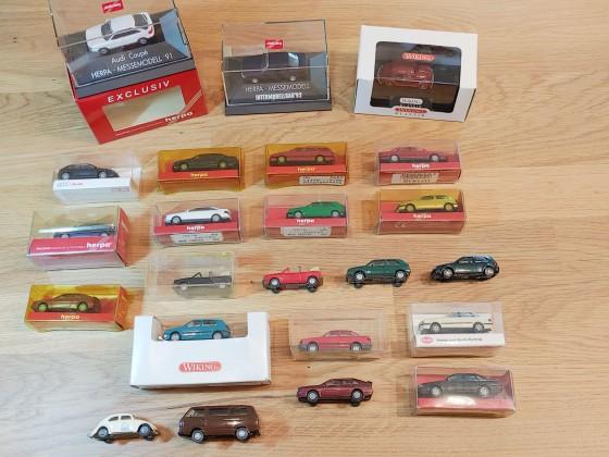 VWs und Audis aus meiner H0-Sammlung