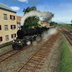 Grover Bahnhofseinfahrt