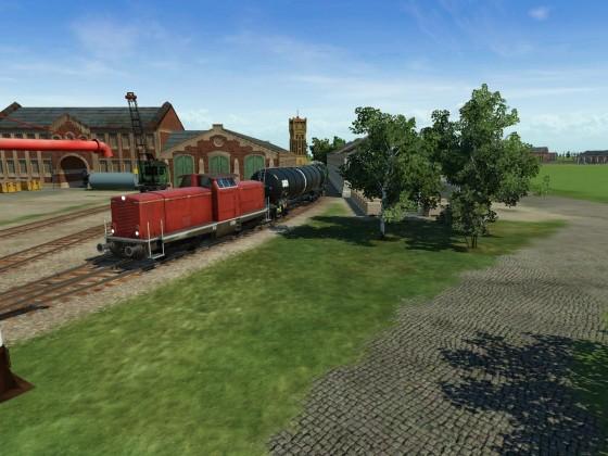 Am alten Güterbahnhof