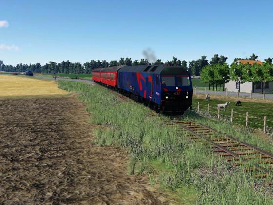 i drift på Gedserbanen i juli 2007 (I)