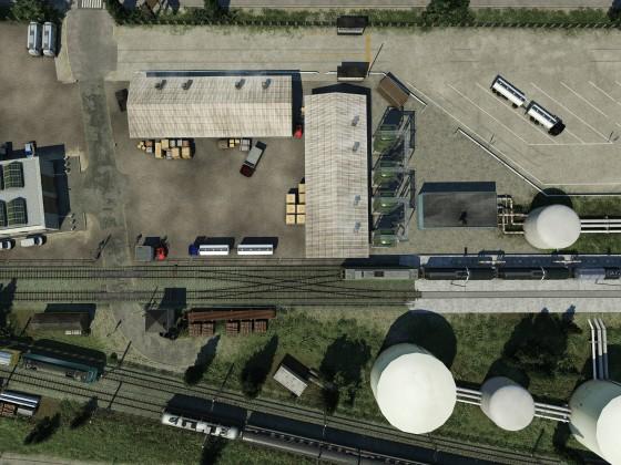 Raffinerie / Tanklager