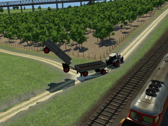der fliegende Hollän...ähm Anhänger :-)