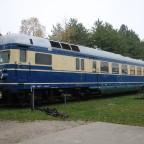 Blauer Blitz im Eisenbahnmuseum Strasshof
