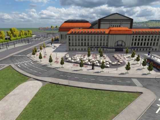Leipzig Project Schönbau - Hauptbahnhof - Brandenburger Straße