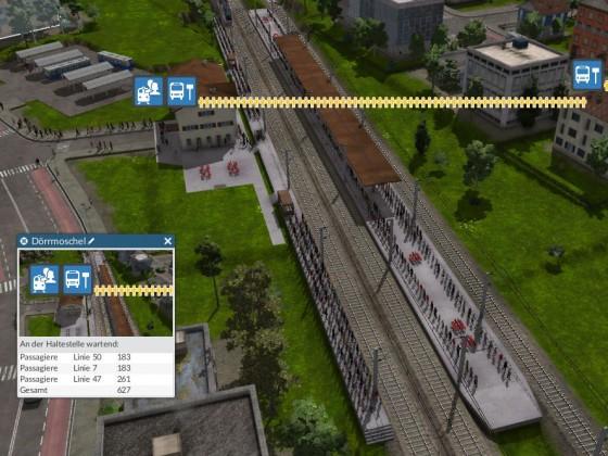 3 Gleisiger Bahnhof alt