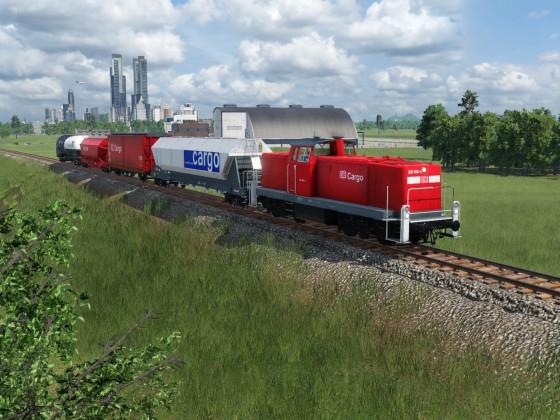 Local fregiht train