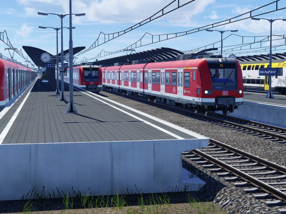 Erste Züge am neune HBF! |WIP| First trains at the new main station!