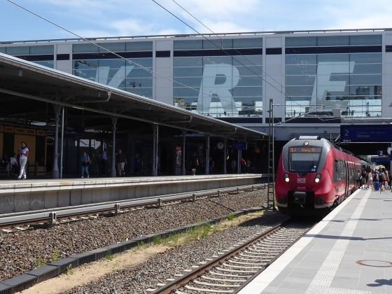 Berlin Ostkreuz Regionalbahnsteig Ru 2