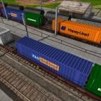 Container-Flachwagen von Wohlstandskind