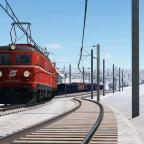 ÖBB 1010+1044 Doppeltraktion mit schwerem Güterzug