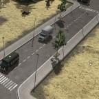 USA Erweiterung Stadard Straße mit Platten weg