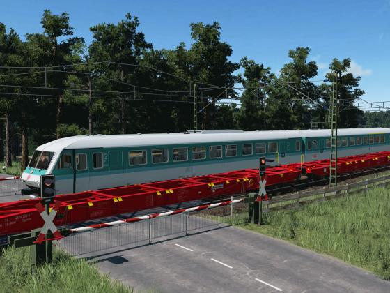 Bahnübergangsbegegnung