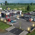 [MOD preview]_Truck_Sales_Shop_series ( Garage + Station )
