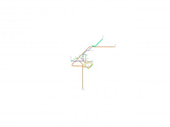 Liniennetzplan von Göllnitz