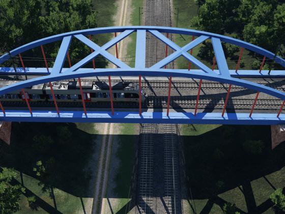 Moderne Stahlbrücke (wip)