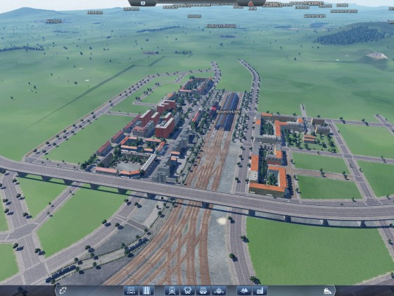 Baufortschritt in Rosenfelden