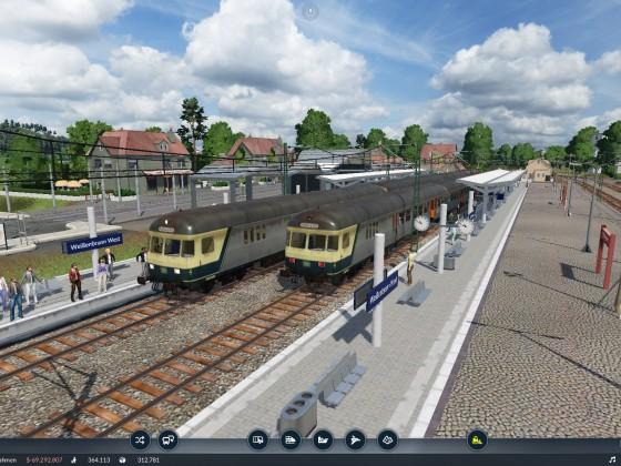 n-Wagen Züge in Weißenbrunn
