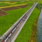 Hochgeschwindigkeits-Brücke