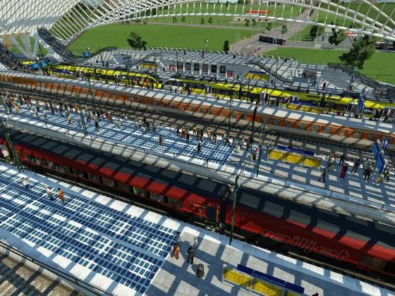 ÖBB 4024.022 'Raiffeisen' - Umstieg in den Railjet möglich