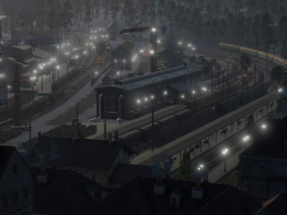 Holzstadt im morgendlichen Flair - experimenteller Screenshot