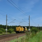 Bahnbau 295 in Müssen