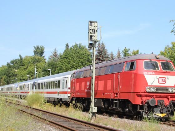 218 mit Sonderlackierung in Haffkrug (Scharbeutz)