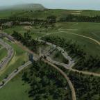 Die Bahnhofs Ausfahrt in Filisur nimmt auch schon langsam form an