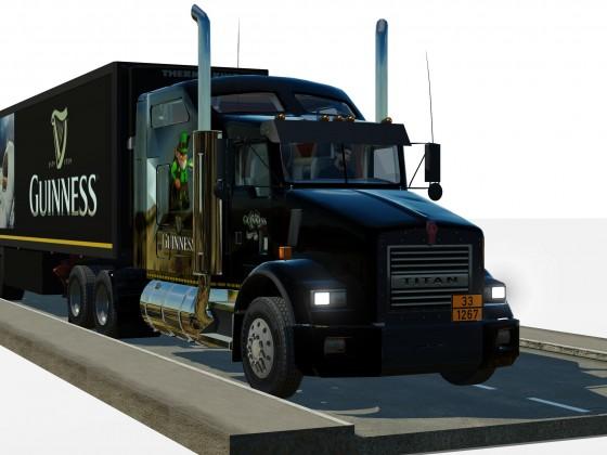 Guinness-Truck Nr. 3