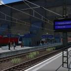 Warten auf Gleis 1