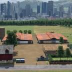 Biofelder vor Freifeld
