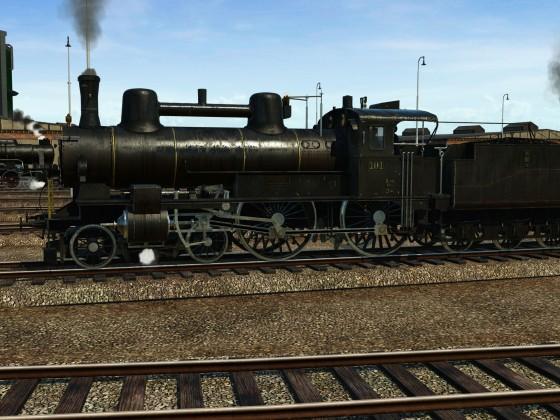 Im Bahnbetriebswerk bei Wien