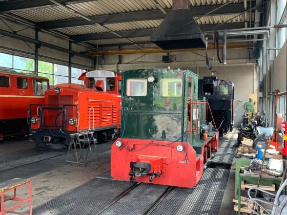 Werkstatt/Lokschuppen Bezau - 2