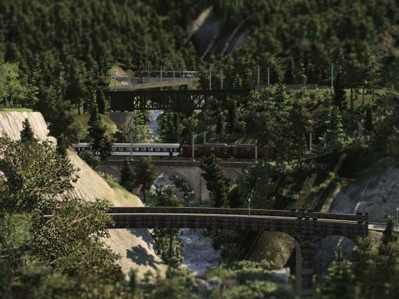 Meienreussbrücken (Gotthard-Wassen)