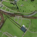 Bahnhofseinfahrt VOR dem Umbau