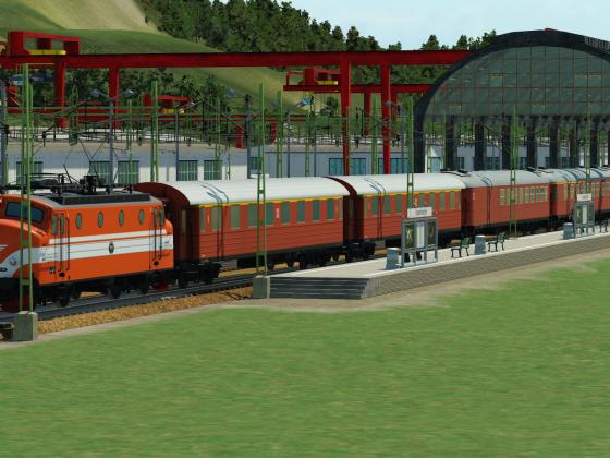 Swedish State Railways Expresstrain