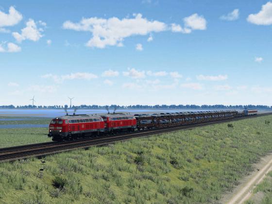 Sylt Shuttle nach Westerland