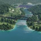 Blick auf die Talsperre Schluchsee