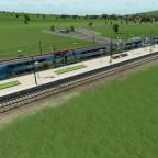 Halt im Regiobahnhof