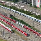 Freifelder Gleise im Norden