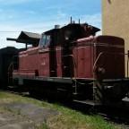 V60 im Bahnpark Augsburg